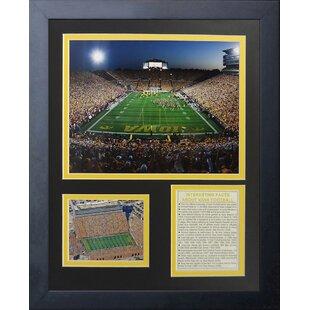 Iowa Hawkeyes Kinnick Stadium Framed Memorabilia