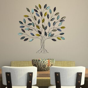 Hand Painted Tree Wall Du00e9cor