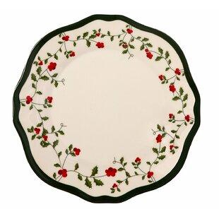 Holiday Berry Melamine Dinner Plate (Set of 36)  sc 1 st  Wayfair & Acrylic \u0026 Melamine Christmas Plates \u0026 Saucers You\u0027ll Love | Wayfair