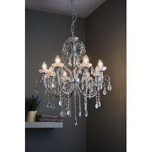 Ip rated bathroom chandeliers wayfair tabitha 8 light crystal chandelier aloadofball Choice Image