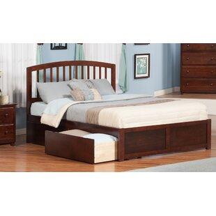 King Platform Bed Drawers Wayfair