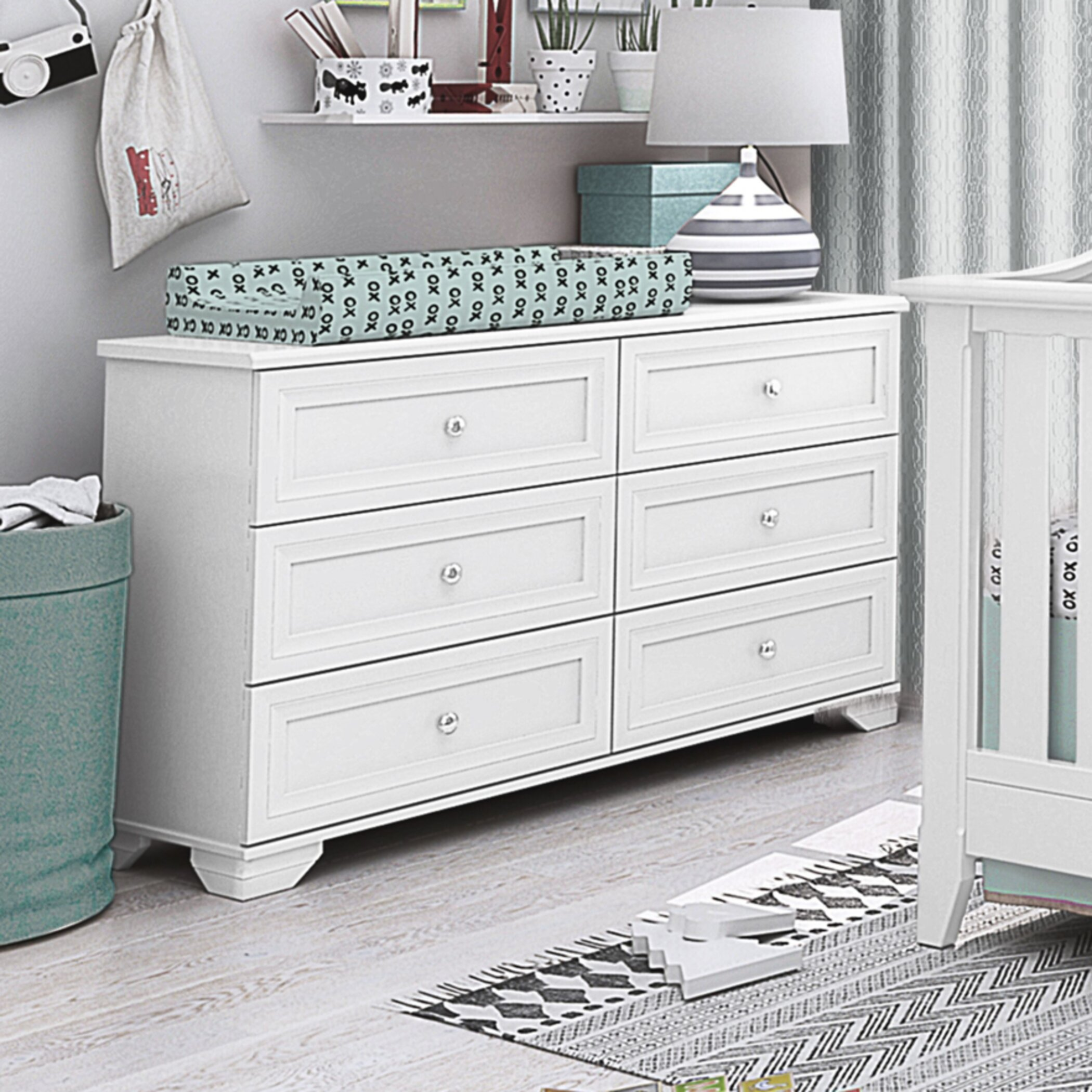 Admirable Child Craft Camden Dresser Wayfair Home Interior And Landscaping Elinuenasavecom