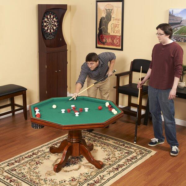 Hathaway Games Kingston 3 In 1 Poker Table U0026 Reviews | Wayfair