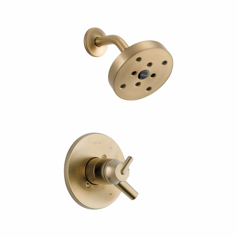 Bathroom Faucets Greensboro Nc delta trinsic® bathroom shower faucet trim with lever handles