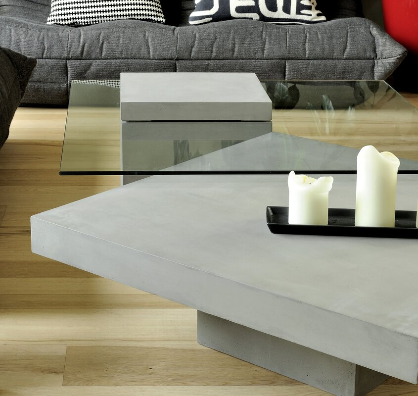 Lyon Beton Verveine Coffee Table & Reviews | Wayfair