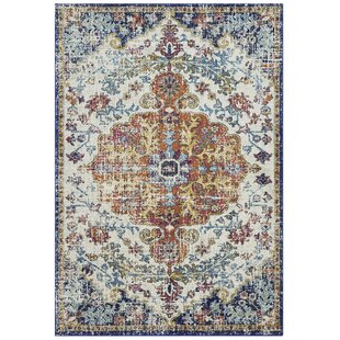 Falgout Beige/Blue Rug by Latitude Vive