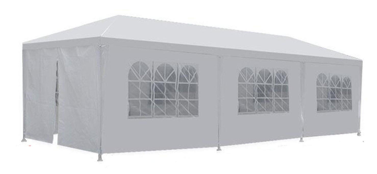 MCombo 10 Ft. W x 30 Ft. D Steel Party Tent  sc 1 st  Wayfair & Newacme LLC MCombo 10 Ft. W x 30 Ft. D Steel Party Tent u0026 Reviews ...