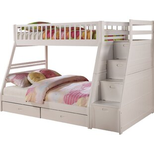 Twin Over Queen Bunk Bed Wayfair