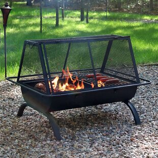 Superior North Wood Steel Wood Burning Fire Pit