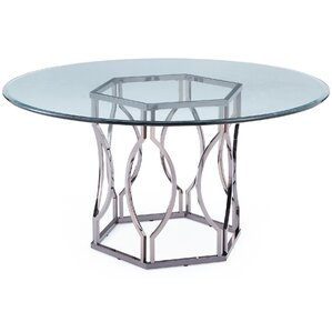 viggo glass dining table