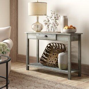 Glass Top Entry Table Wayfair