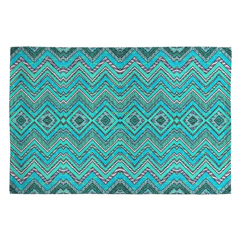 Deny Designs Ingrid Padilla Turquoise Area Rug Amp Reviews