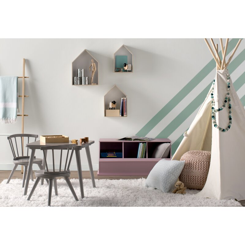 Viv + Rae Justine Windsor 3 Piece Table and Chair Set by Delta ...