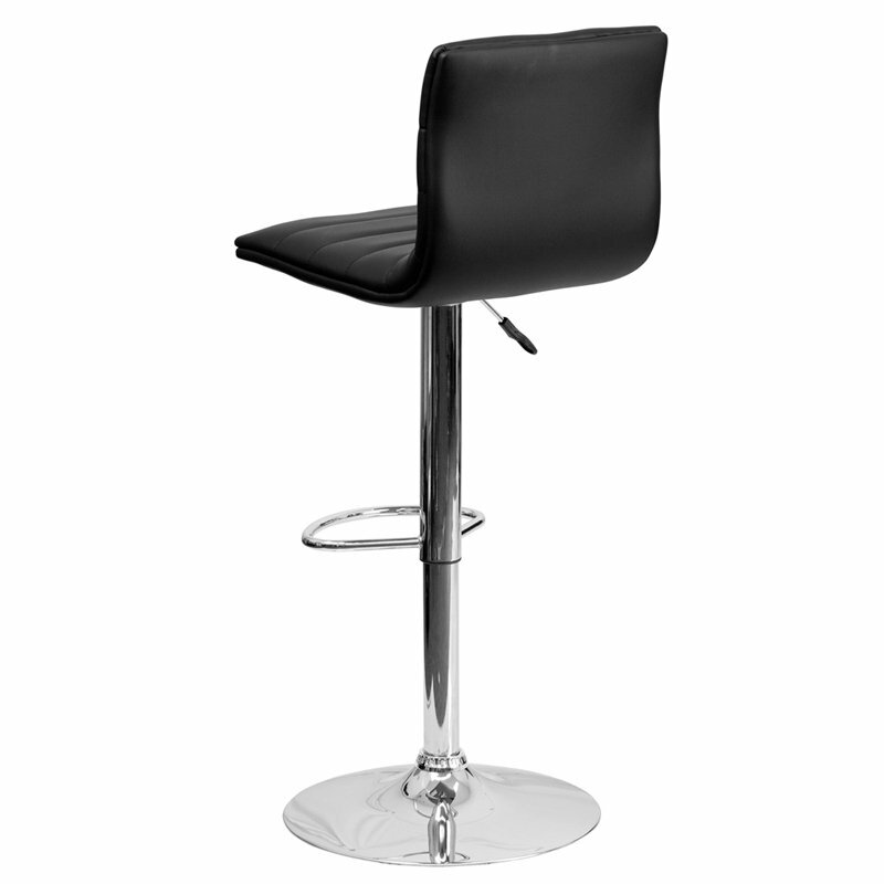 Whelan Mid Back Adjustable Height Swivel Bar Stool