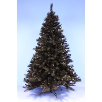 Weihnachtsbaum Schwarz.Künstlicher Weihnachtsbaum 213 Cm Schwarz Mit Ständer