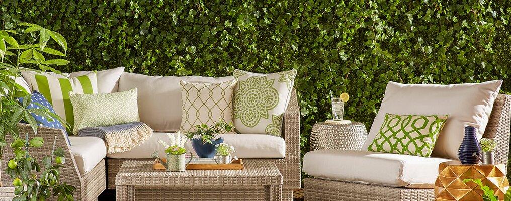 Patio Furniture Ft Sunbrella Fabric