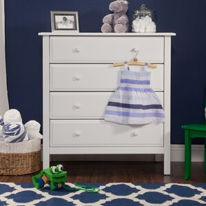 Jayden 4 Drawer Dresser by DaVinci