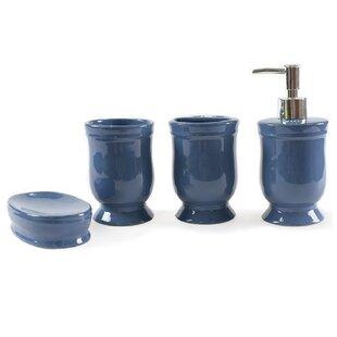 Tous accessoires salle de bain: Finition - Bleu   Wayfair.ca