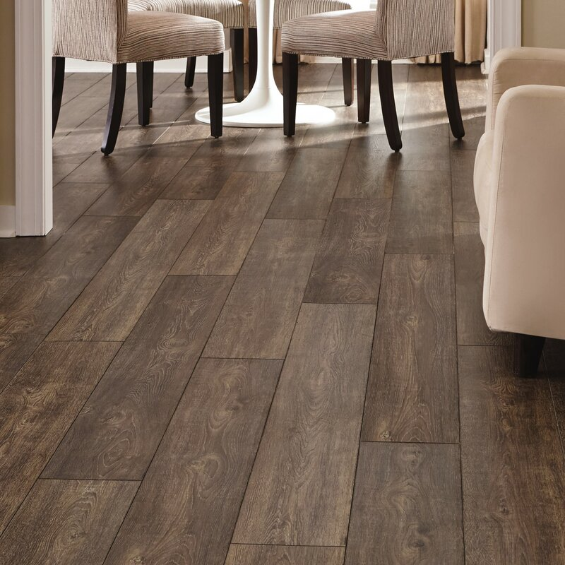 Mannington Restoration Wide Plank 8 X 51 12mm Oak Laminate Flooring In Caraway Wayfair