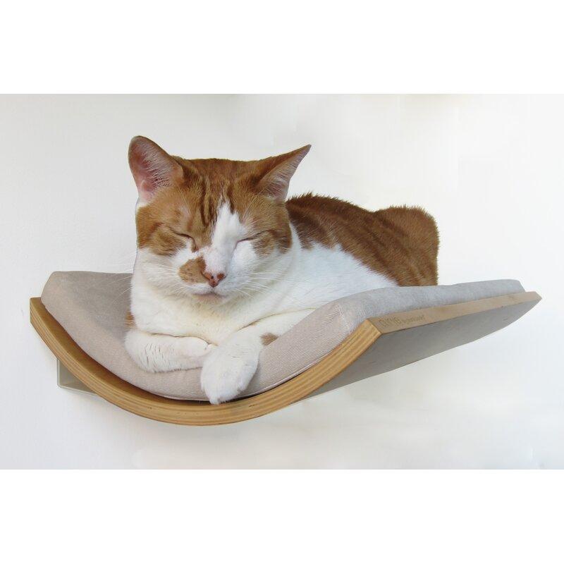 5 Myra Curve Wall Mounted Cat Perch