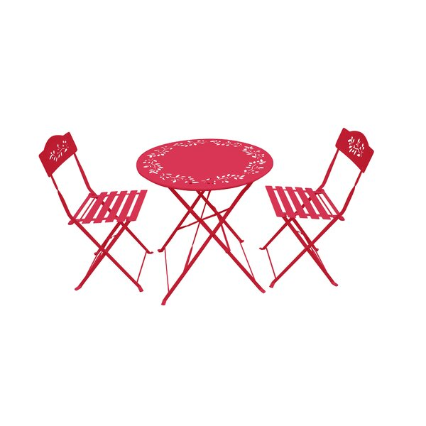 Vintage Metal Bistro Set | Wayfair