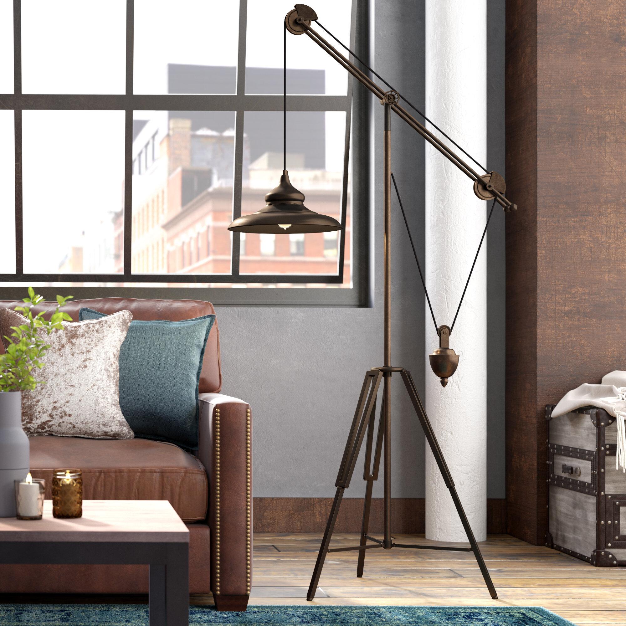Trent Austin Design Rosemead 68 8 Task Floor Lamp Reviews Wayfair