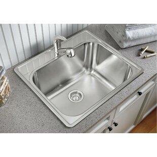 Beau 25u0027u0027 X 22u0027u0027 Drop In Laundry Sink