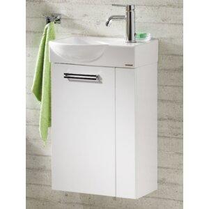 52 cm Wandmontierter Waschbeckenunterschrank Co..