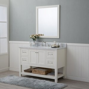 Whiting 48  Single Bathroom Vanity Set Vanities Joss Main