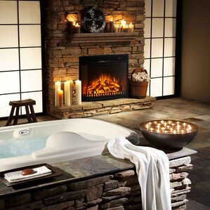 Electric Fireplaces Youll Love Wayfair