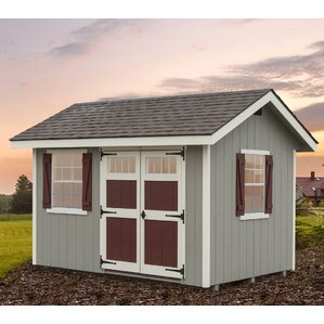 how to build an 8 ft by 12 ft shed