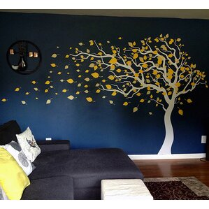 Modern Trees And Flower Wall Decals AllModern - Yellow flower wall decals