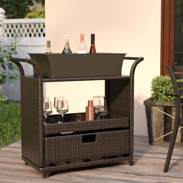 Elliot Patio Serving Cart Amp Reviews Joss Amp Main