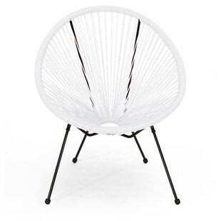 Awesome Off White Wicker Patio Lounge Chairs Youll Love Wayfair Machost Co Dining Chair Design Ideas Machostcouk