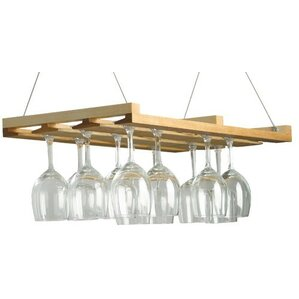 Wine & Stemware Hanging Wine Bottle Rack ..