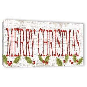 Christmas Wall Art christmas wall art & paintings you'll love | wayfair