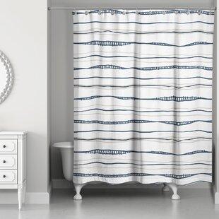 Fanette Wavy Single Shower Curtain