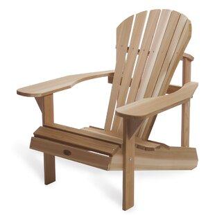 Incroyable Western Red Cedar Athena Solid Wood Adirondack Chair