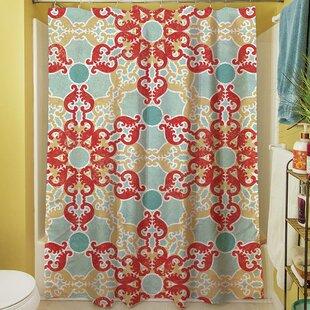 Kerrie Geometric Shower Curtain
