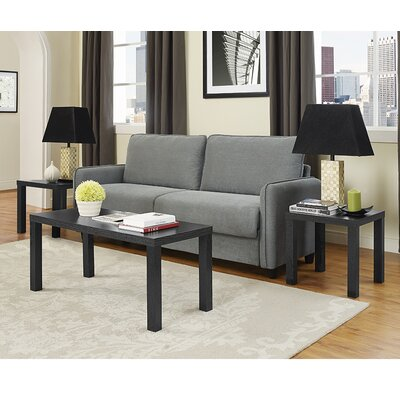 Save To Idea Board. Black Bridges 3 Piece Coffee Table Set Part 54