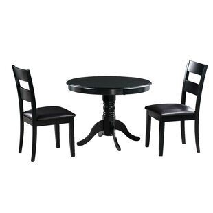Darwin 3 Piece Solid Wood Dining Set