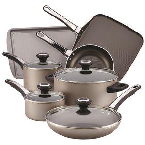 17 Piece Non-Stick Cookware Set