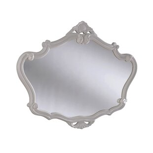 White Ornate Mirror Wayfair Co Uk