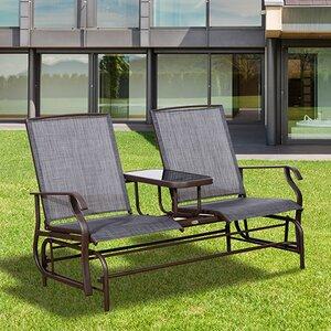 2-Sitzer Gartenbank von Hazelwood Home