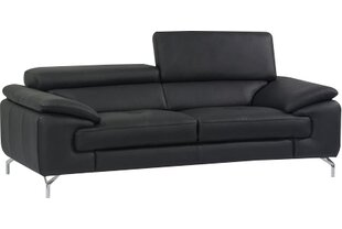 Quickview. Black Modern \u0026 Contemporary Leather Sofas | AllModern