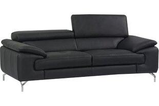 Modern & Contemporary Modern Black Leather Sofas | AllModern
