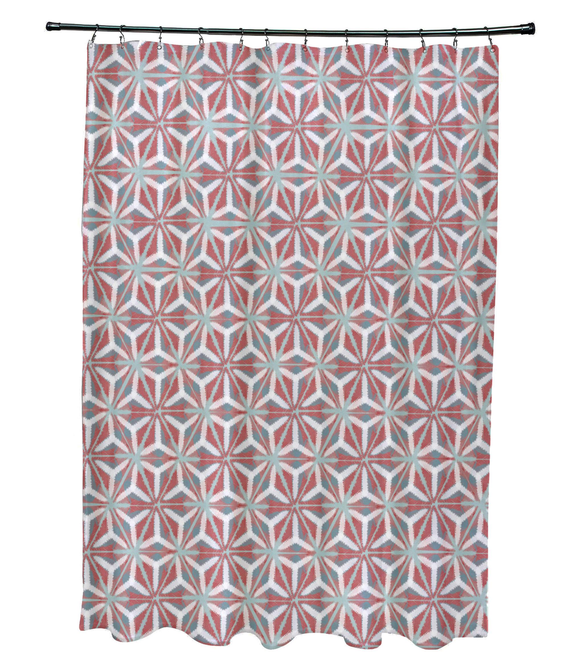 Bloomsbury Market Viet Mosaic Shower Curtain