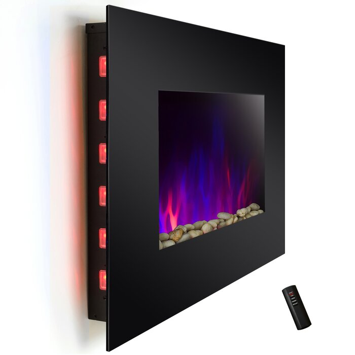 inch fireplace mount p accessories wall electric products dynasty black fireplaces wallmount ca efca