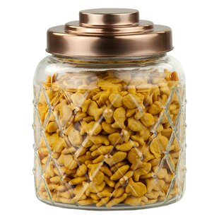 Gl Kitchen Canister Set Of 2