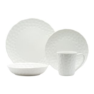 Vanilla Marble Wingfield 16 Piece Dinnerware Set Service for 4  sc 1 st  Wayfair & Red Vanilla Marble Dinnerware | Wayfair